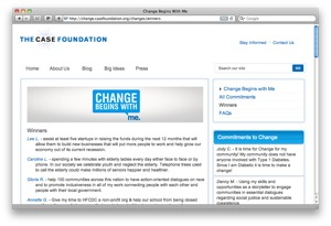 The Case Foundation's Campaign for Change